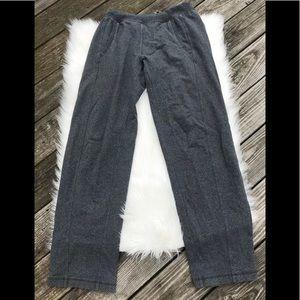 Lululemon Men's Charcoal Grey Sweatpants M